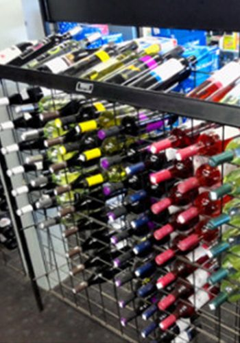 Check out our selection of beer, wine and spirits